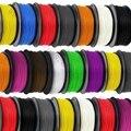 Alta Calidad 1 kg Filamentos Impresora 3D de plástico Caucho Consumibles Material, ROHS certificados, 1.75/3mm ABS/PLA Opcional
