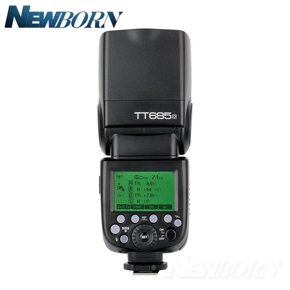 En Stock Godox TT685O 2.4G HSS TTL GN60 Flash Speedlite + xpro o Kit transmetteur de déclenchement pour Olympus Panasonic + cadeau-in Clignote from Electronique    2