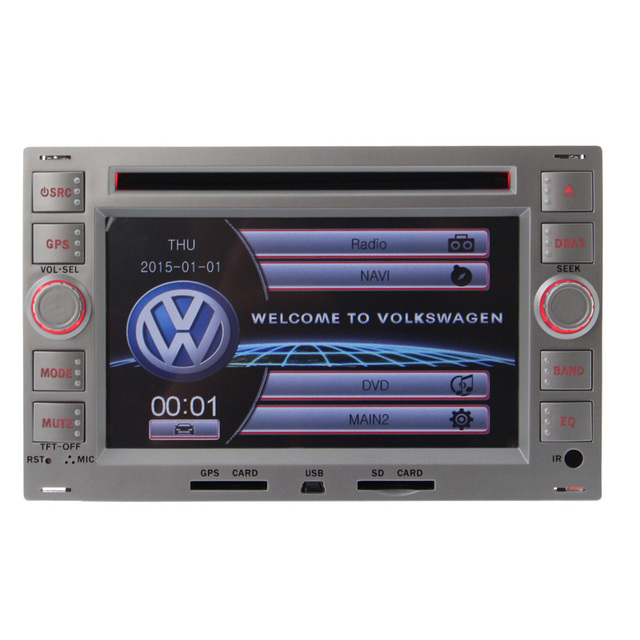 Wince6.0 Car Radio GPS DVD Player Bluetooth RDS For VW Passat B5 Golf 4 POLO BORA With Multimedia Touch Screen Double 2 Din swc