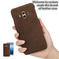 ZD10 Genuine Leather Half Wrapped Cover For LG G7 ThinQ(6.1') Back Case For LG G7 Phone Case Cover Free Shipping