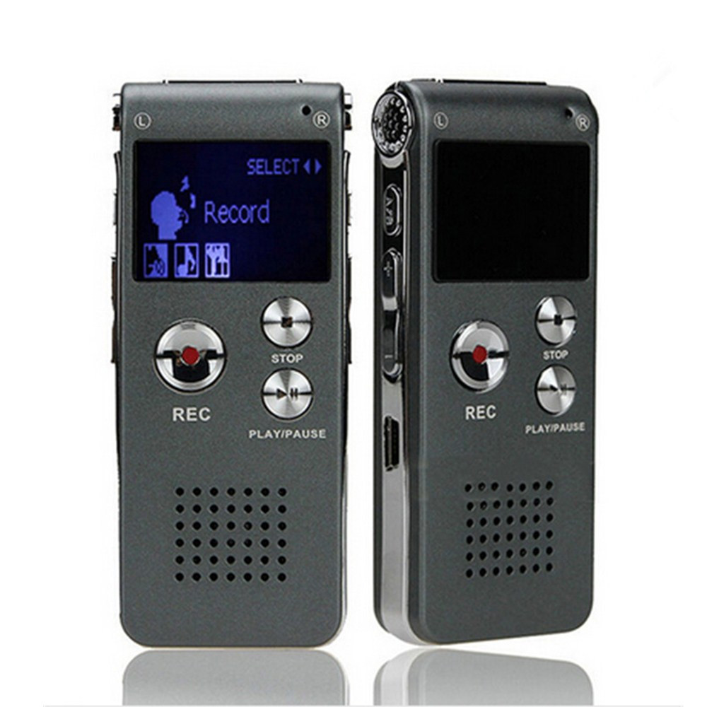 Gieftu голос Регистраторы 8 ГБ Mini USB Flash Цифровой Аудио Голос Запись 650Hr Диктофон MP3-плееры