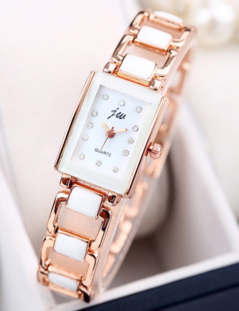 New Luxury Brand JW Fashion Watches Women Stainless Steel Quartz Watch Ladies Dress Casual Wristwatches Hours Female Clock 2016 new high quality women dress watch crrju luxury brand stainless steel watches fashion wrist gift watch men wristwatches
