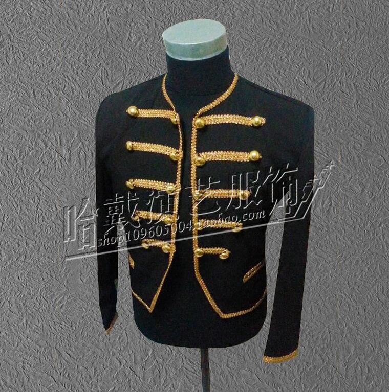 Bigbang GD coat Men Singers Dancer Fashion Royal Wind Stage Suit Jacket Men's Blazer Stage Costumes !