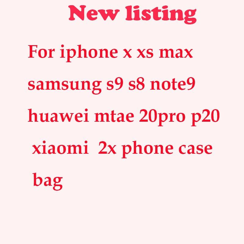 Étui pour iphone x xs max xr 8 7 samsung s9 s8 mote 9 8 pour xiaomi huawei housse de téléphone sac robuste