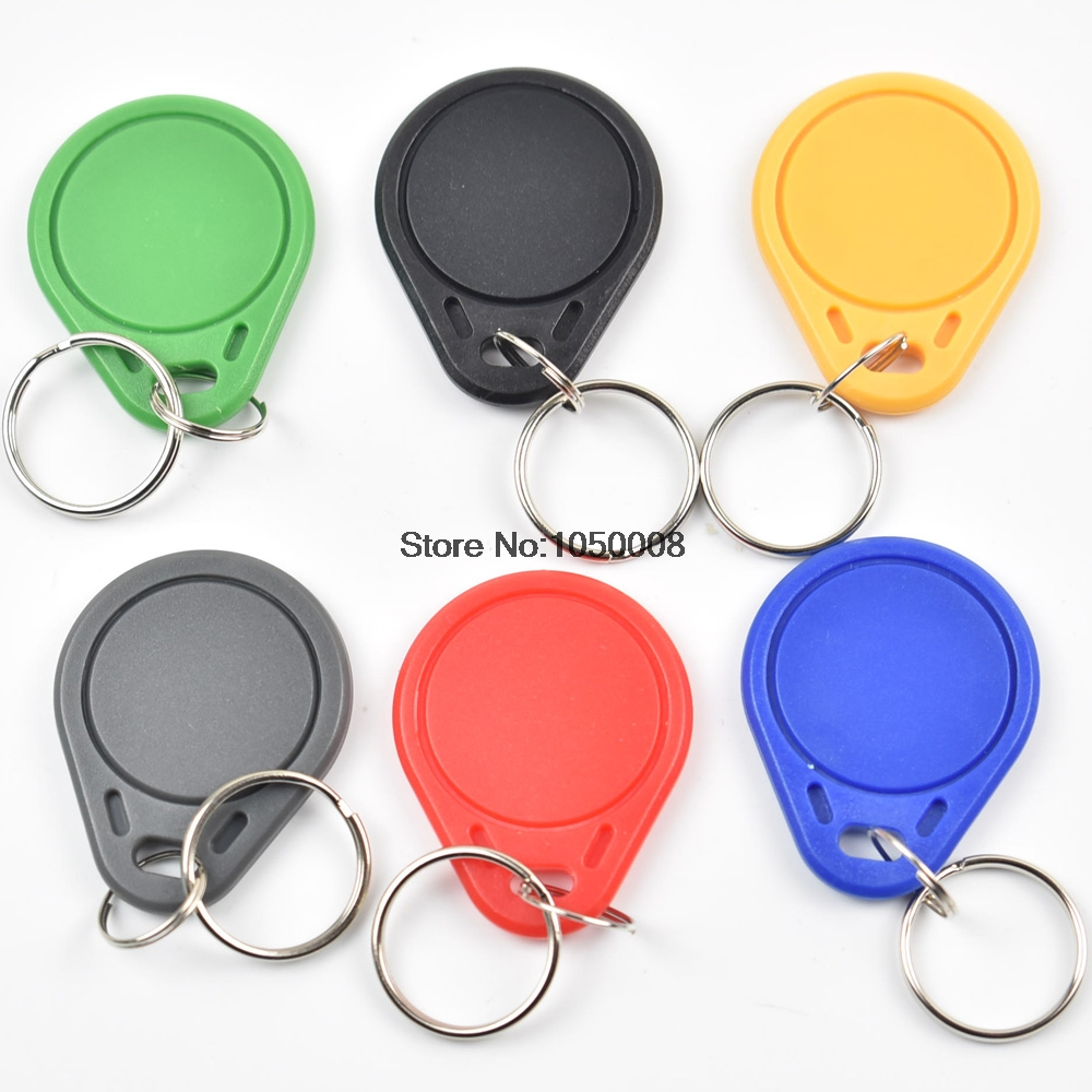 100pcs UID IC Card Changeable Smart Keyfobs Key Tags Card For 1K S50  RFID 13.56MHz ISO14443A Block 0 Sector Writable