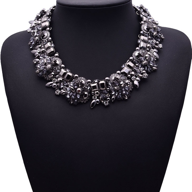 HTB1aVcLaOzxK1RkSnaVq6xn9VXan - Miwens Collar Za Necklaces Pendants Vintage Crystal Maxi Choker Statement Silver Color Collier Necklace Boho Women Jewelry