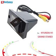 HaiSunny Intelligente Dinamica Traiettoria Parcheggio in Retromarcia Auto Videocamera vista posteriore Per HYUNDAI H1 GRAND STAREX