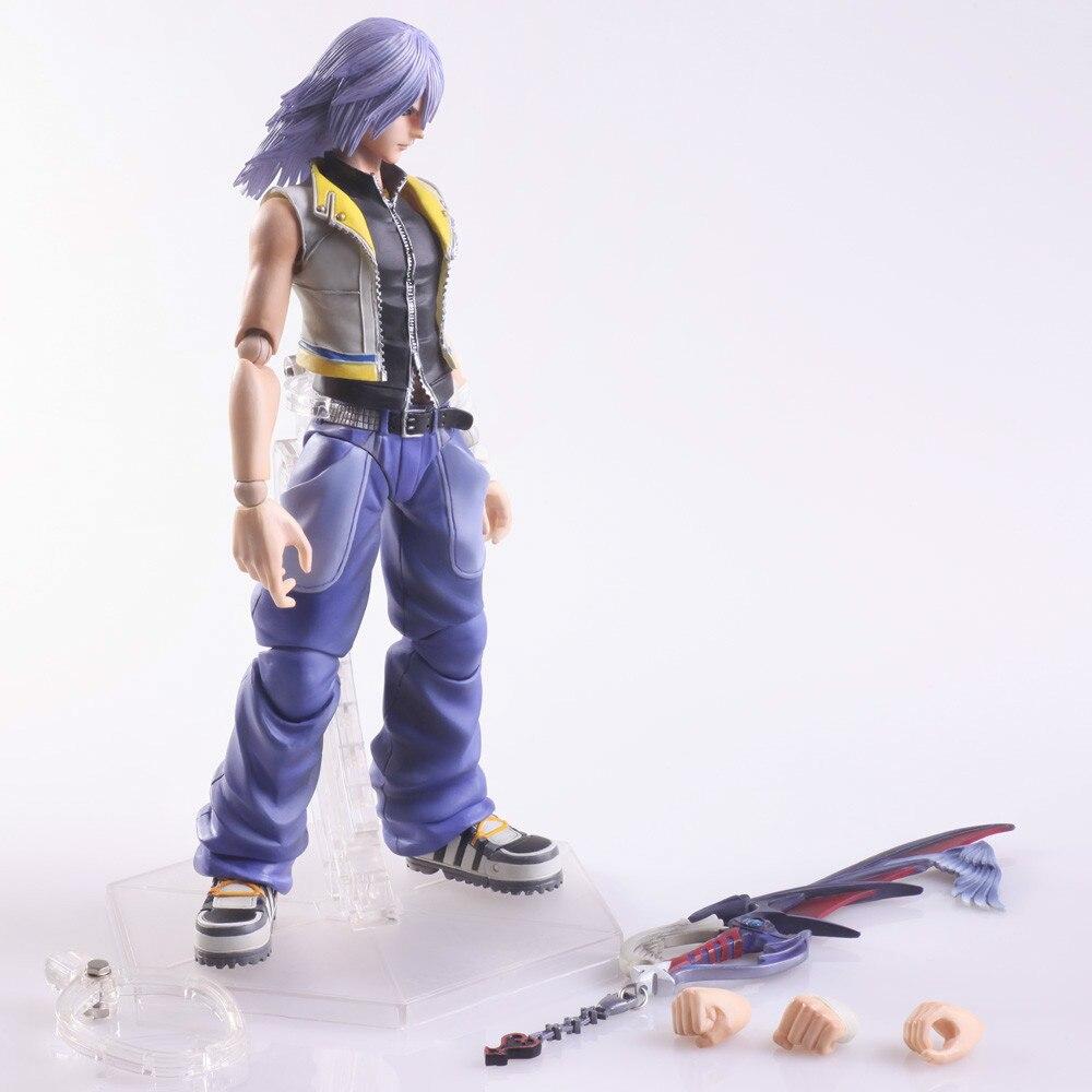 Original Kingdom Hearts Riku Pvc Action Figure Toy Movie Game Anime Bott Funko Pop Model Kit