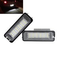 Free Shipping Volkswagen Led License Plate Lamp Factory Supply OEM Design License Plate Light For VW