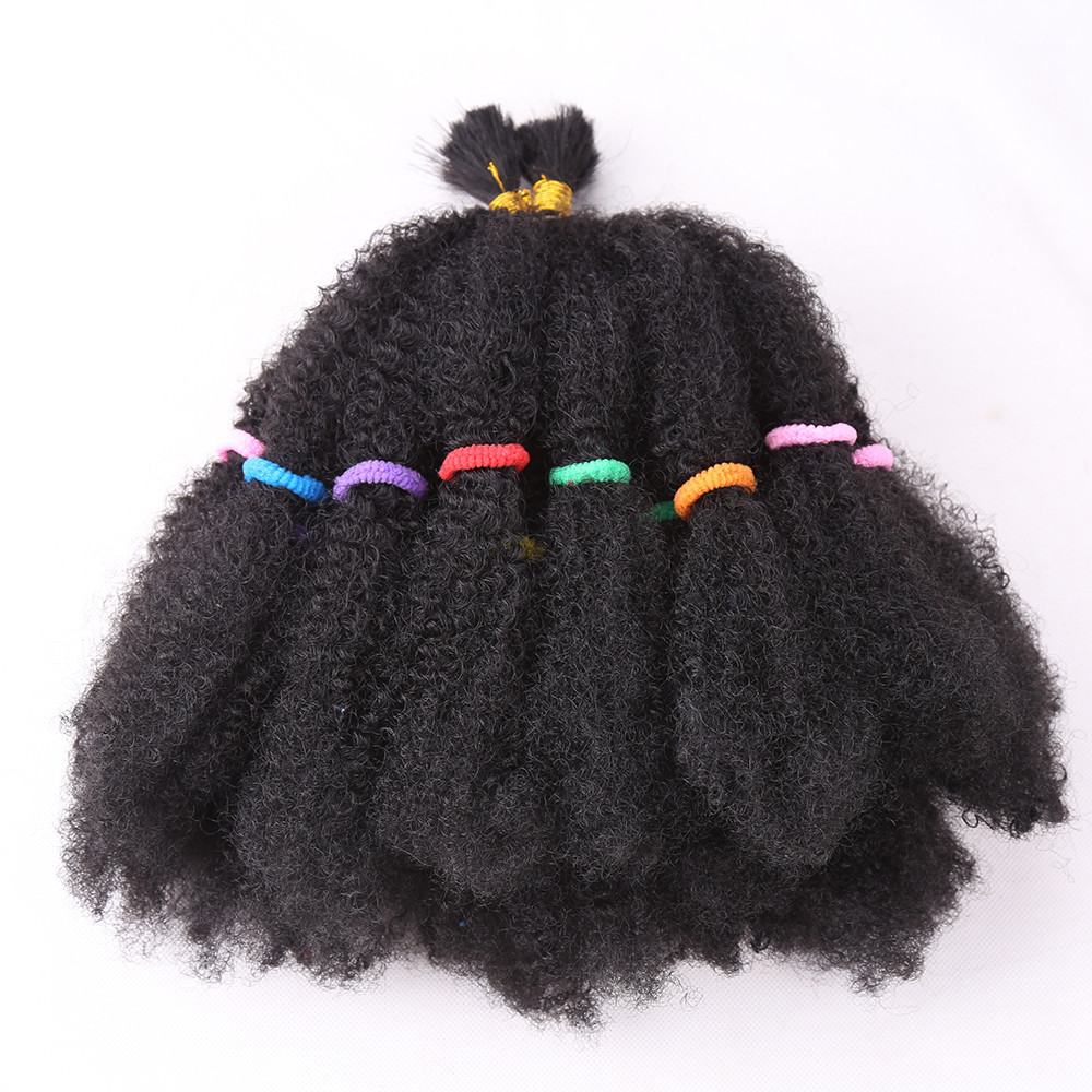 Africa Black Wig Braid Gold 22