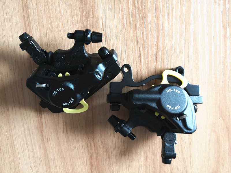 1 Pair Road Line Pulling Hydraulic Disc Brake Bicycle Brake Bike Brake Calipers Front /& Rear Bicycle Brake Accessories