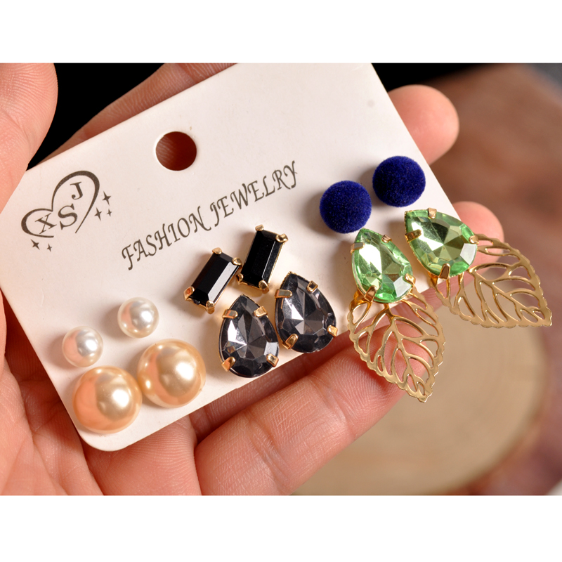 Earrings Stud Earrings Fast Deliver Bilincolor Long Fashion Grey Pearl Earrings Women Wedding Gifts Classic Luxury Wedding Jewelry Elegant Zi