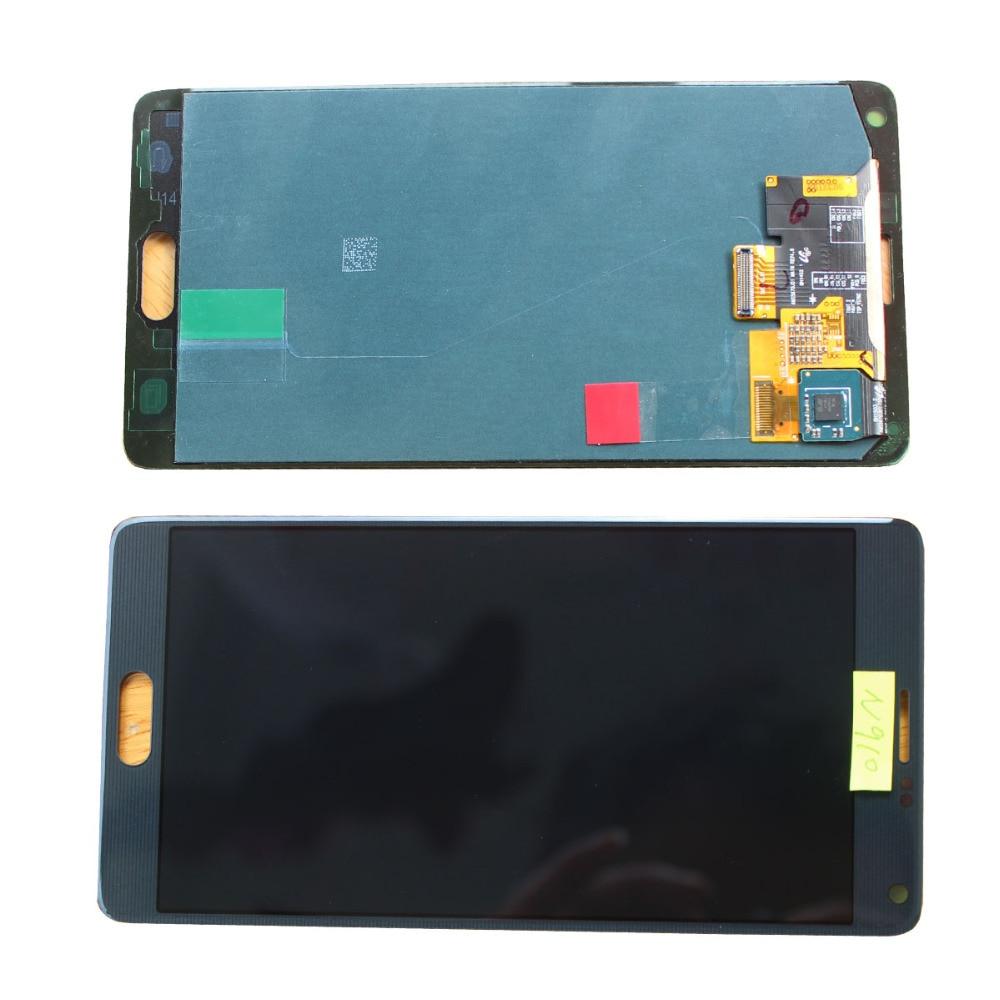 LCD Touch Screen+Digitizer For Samsung Galaxy Note 4 N9100 SM-N910 N910F N910X replacement pantalla parts аккумулятор samsung eb bn910bbegru 3220mah для samsung galaxy note 4 sm n910