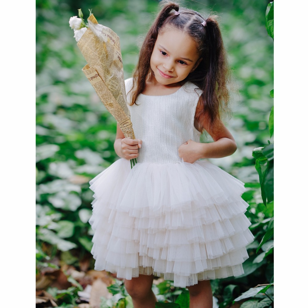 Toddler and Big Girls Ball gown Shiny Wedding Party Princess Dresses ...