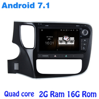 Android 7 1 Car Dvd Gps Player For Mitsubishi Outlander 2014 2016 With 2G RAM Wifi