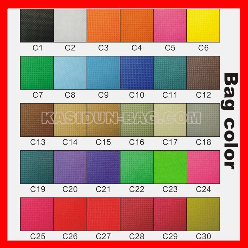 non woven bags colors