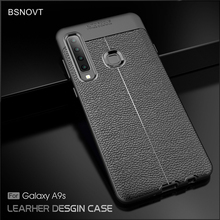 For Samsung Galaxy A9 2018 Case Soft Silicone PU Leather Anti-knock Cover A9S
