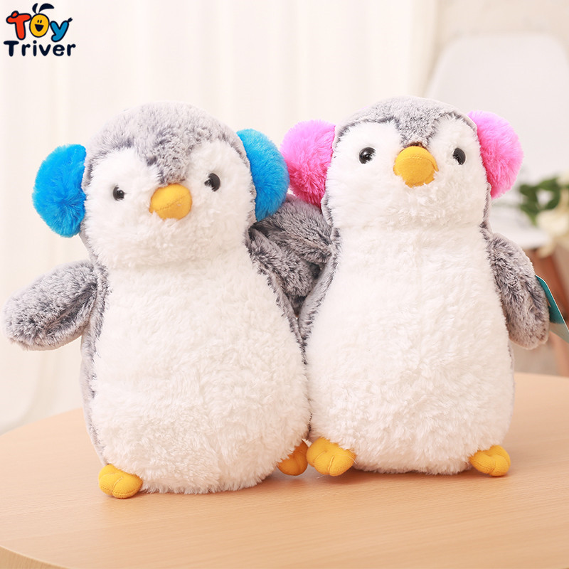 Plush Penguin Toy Stuffed Animal Doll Australia Ocean Park Baby Children Kids Boy Girl Friend Birthday Gift Home Decor Triver 65cm plush giraffe toy stuffed animal toys doll cushion pillow kids baby friend birthday gift present home deco triver