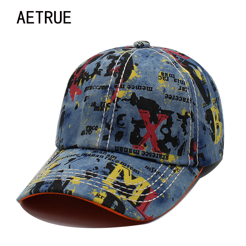 AETRUE Men Baseball Cap Women Snapback Casquette Jeans Caps Hats For Men Women Bone Gorras Baseball Snapback 2018 Plain Sun Hat aetrue brand men snapback women baseball cap bone hats for men hip hop gorra casual adjustable casquette dad baseball hat caps