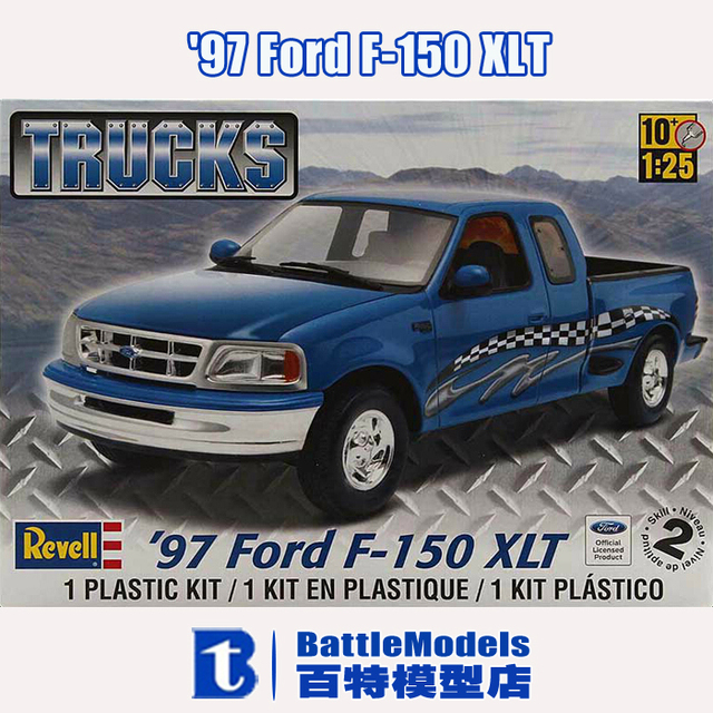 Revell Model    Ford F  Xlt Plastic