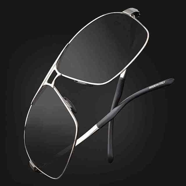OPHIER Metal Titanium Alloy HD Polarized Sunglasses Men Brand Designer Sunglasses Male Driving Sun Glasses Gafas Oculos De Sol