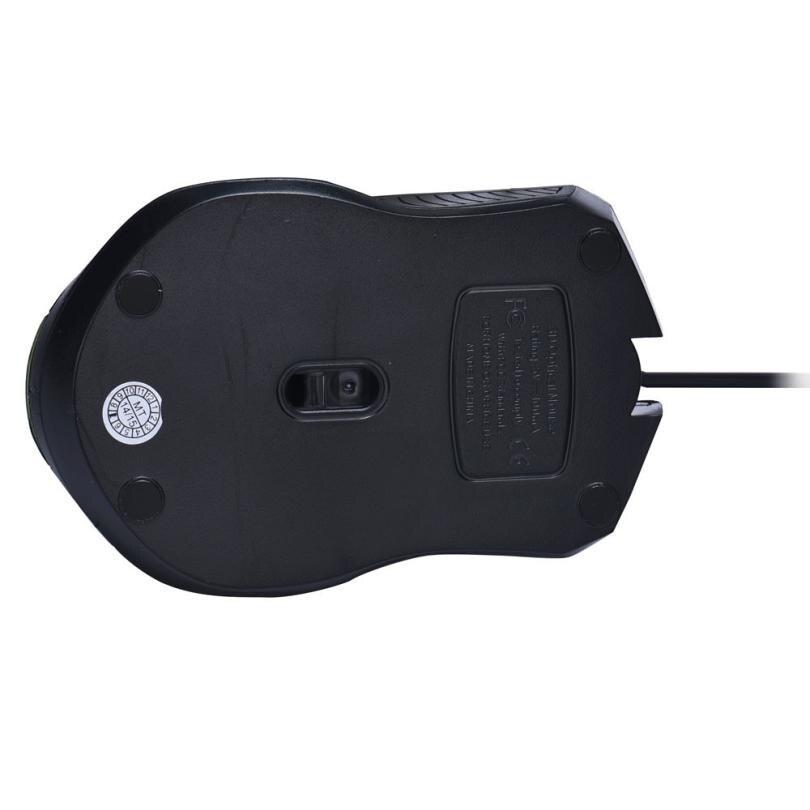 Новый Мышь Мода 1000 Точек на дюйм USB Проводная оптическая Мыши компьютерные Мышь для портативных ПК 51221 Прямая доставка