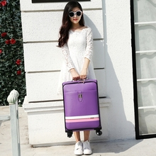 Suitcase trolley luggage female male universal wheels travel luggage bag 20 24 password box pull box soft box