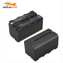 Goldfox NP F770 5200mah Replacement Digital Camera Batteria For Sony NP F750 NP F770 High Capacity
