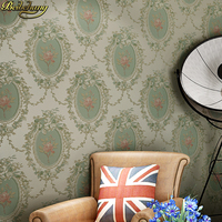 beibehang papel de parede 3d para sala American country retro wallpapers for living room decoration wallpaper roll wall paper