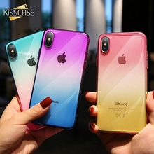 KISSCASE Case For iPhone 5s SE 6 7 8 Plus Silicone Phone Cover X XR XS MAX Shock Proof Clear Protection Back
