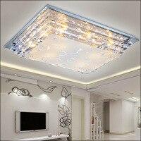 Современная роскошь стекло светодиодный потолочный светильник e27 светодиодные лампы минималистский гостиной столовой чехлы для низкого н...