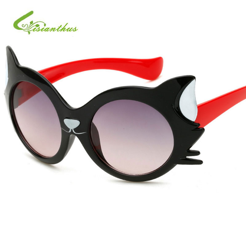 386fc64385 2019 Vintage Kids Sunglasses Brand Boys Sun Glasses Children Glasses UV400 Girls  Cute Sunglasses gafas De