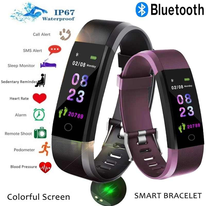 High end version Smart Watch Heart Rate Monitor And so on 15 kinds of multifunction Men and women, young and old Sport Watch