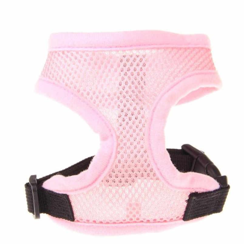1 PC letnie ubranie dla psa ubrania dla małych średnich psów kot XS-XL szelki dla psa miękka siatka kamizelka pies smycz pas na klatkę piersiową zbiornik hurtownie
