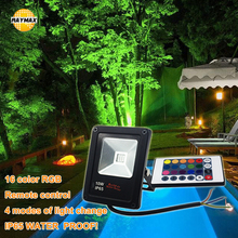 LED foco garden led flood light RGB landscape floodlight outdoor IP65 10W 20W 30W 50W 110-220V remote smart control 16 color ip65 ce good quality high power 30w led wall washer led floodlight 30 1w 110 240vac ds t23 h 30w
