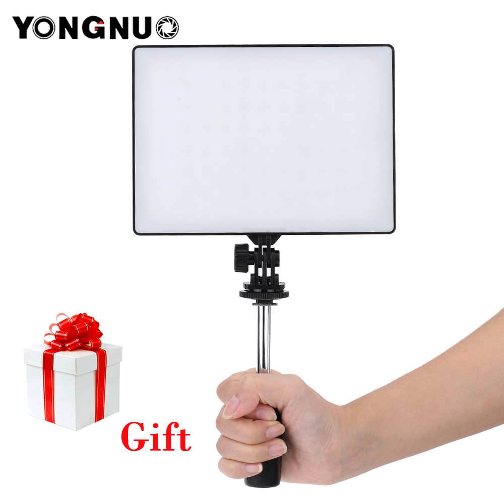 цена на YONGNUO YN300 Air Pro Ultra Thin LED Camera Video Light YN300air 3200K-5500K for Canon Nikon Sony Pentax Olympas DSLR Camcorder