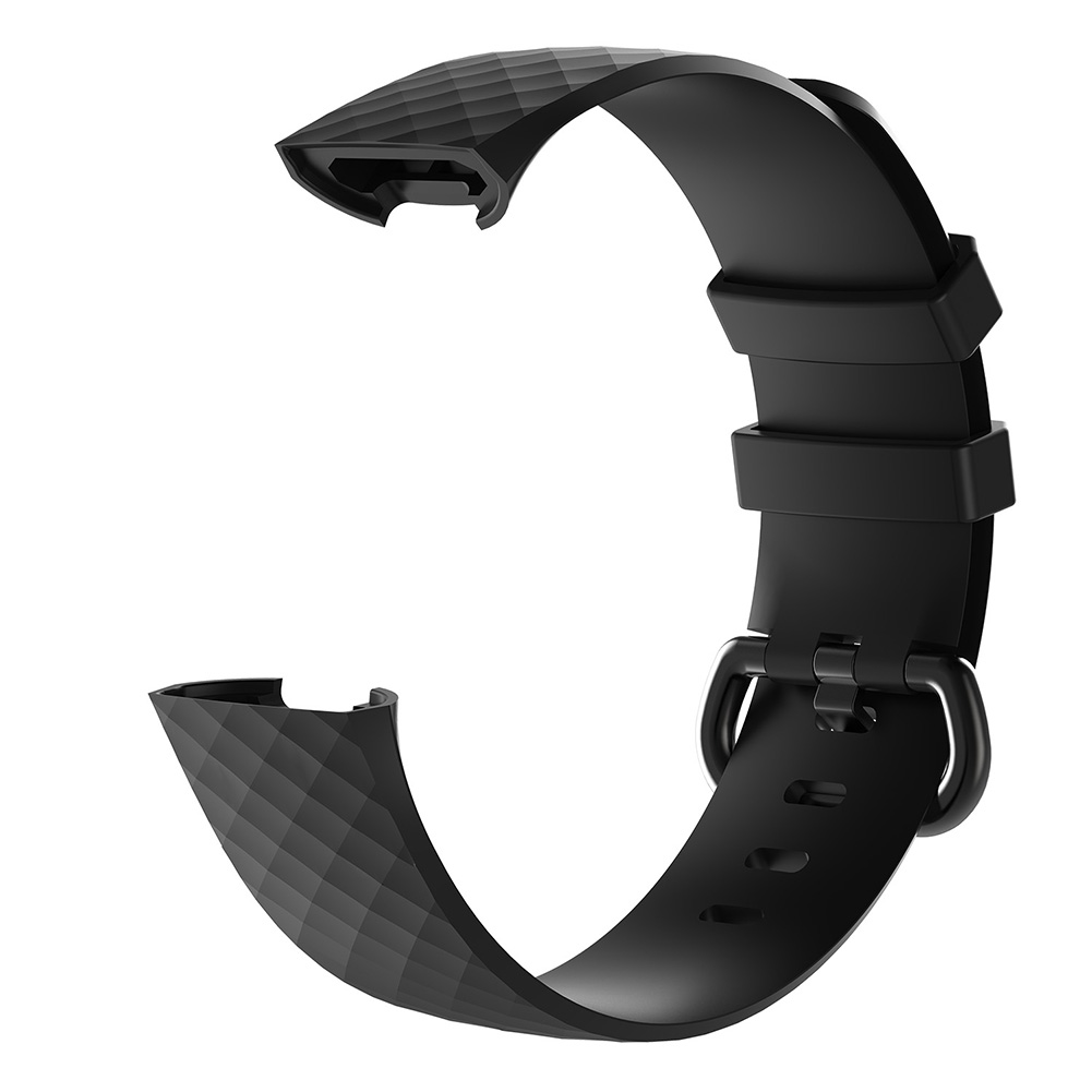 Watchband Smart Watch Band Strap Solid Color Silicone Compatible Charge 3 8899