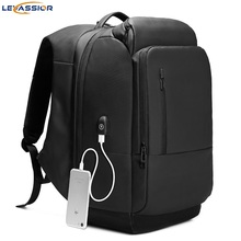 2019 new Multifunctional Large Capacity Waterproof Travel Backpack Laptop Bag with USB Charge for Men Women Casual Tourist