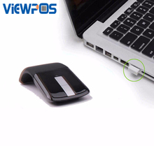 K2 Bluetooth Mouse Touch Roller Wheel Optical Wireless Gaming Mice White Black For Tablet Macbook Laptop PC Computer