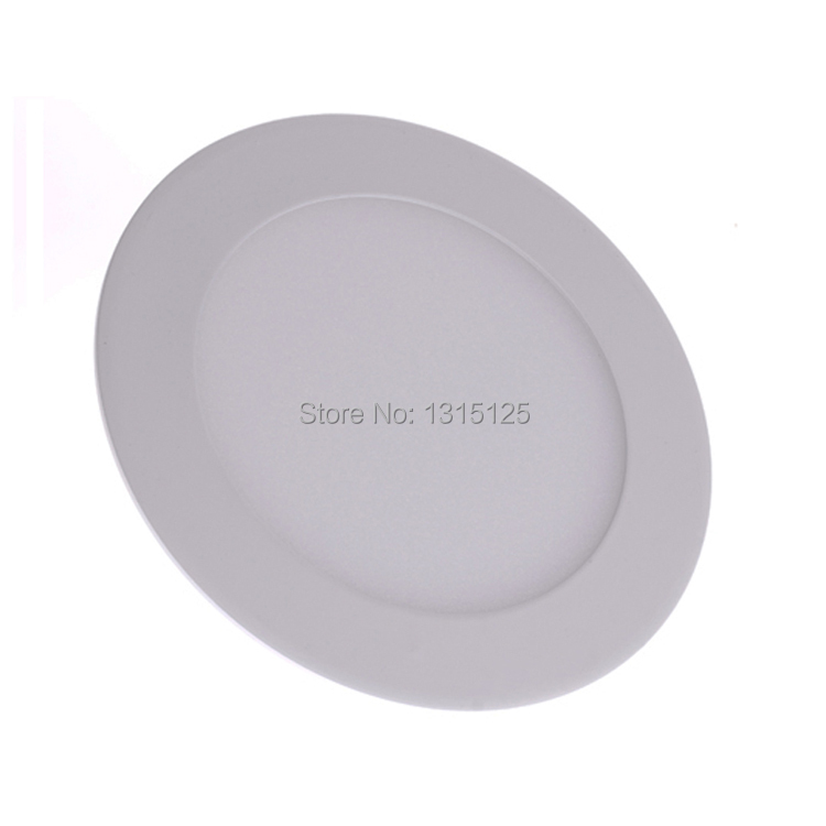 2014 New Real High Quality Dimmable 9w Round 2835 Smd Led Recessed Ceiling Lightwholesale Ac85-265v Panel Light +free Shipping