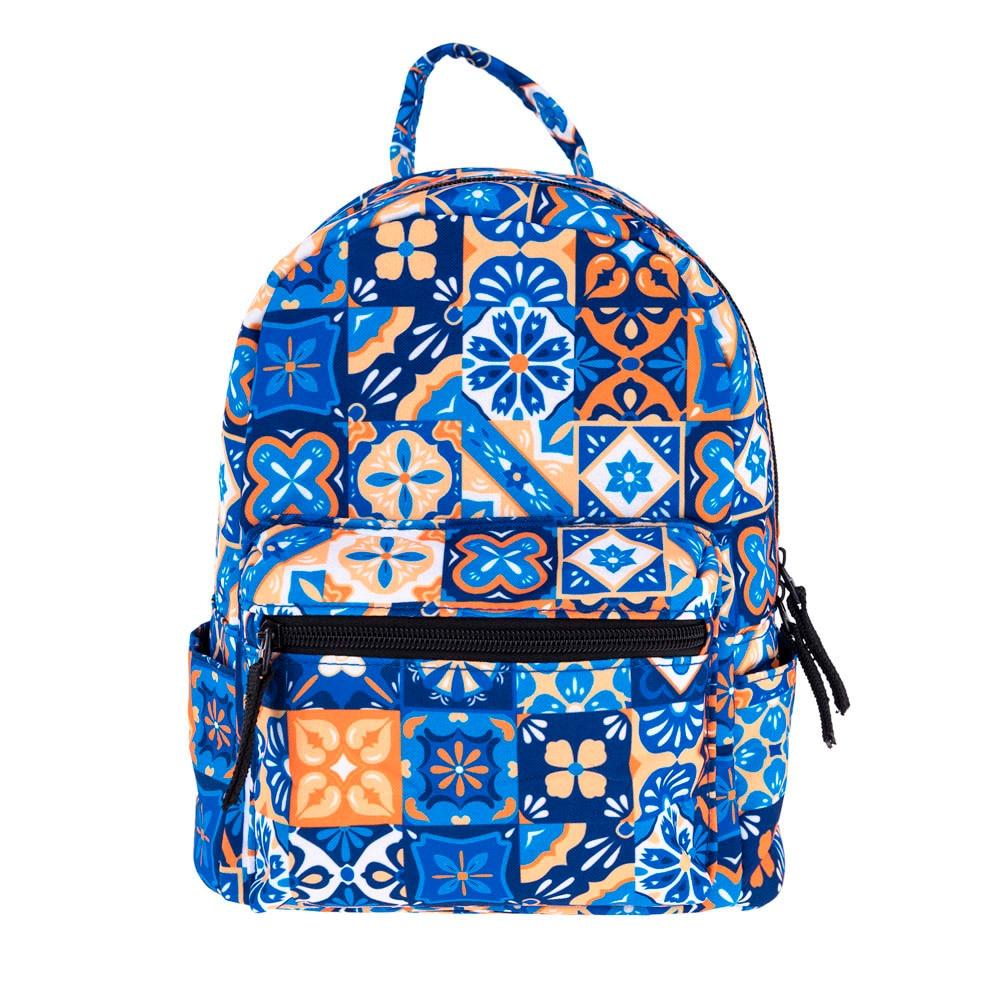 Mochilas Mujer 2018 Vintage 3D Printing Backpack Women Fashion Canvas School Bag Unisex Lady Travel Rucksack Shoulder Bags #Zer