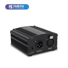 YUEPU RU-P48V 48 В Phantom питание для конденсаторный микрофон XRL разъем