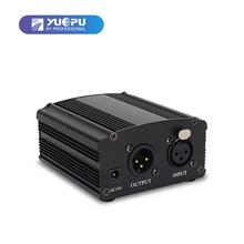 YUEPU RU-P48V 48V Phantom Power Supply for Condenser Microphone XRL Socket(China)