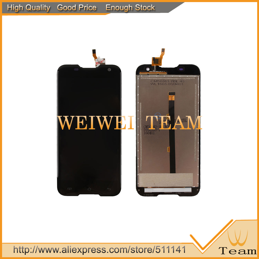 For 5.0 inch BlackView BV5000 LCD Screen With Touch Screen Digitizer Replacement Free Shipping