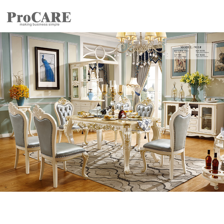 elegant excellent quality dining room furniture made in china - 901