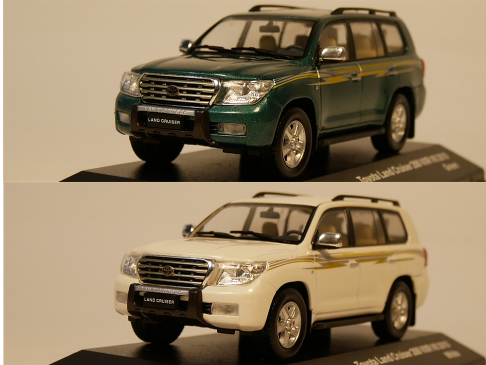 J-collection 1:43 Toyota Land Cruiser 200 VXR V8 2010 moulé sous pression
