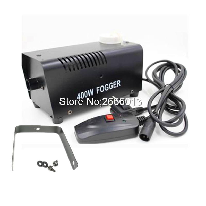 Free shipping Wire control 400W smoke machine, fog machine professional stage DJ Equipment Fogger maker цена 2017