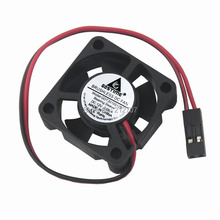 2PCS Gdstime 3010 12V Dupont Connector 2Pin 3CM 30mm 30x30x10mm Mini Brushless DC Cooling Fan