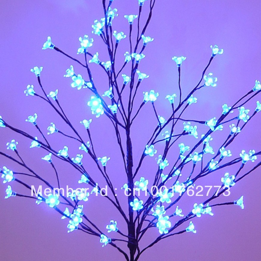Free Shipping Outdoor Blue Blossom Led Tree Light 1.2 M(4ft) Blue Led  Cherry Tree In Landscape Lighting From Lights U0026 Lighting On Aliexpress.com  | Alibaba ...