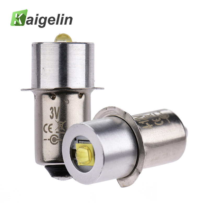 High Bright LED Flashlight Bulb Energy-Saving 3W 3V 4-12V P13.5S White Light Bulbs For Tourch Flashlight Camping Light 348lm white bulb plate for flashlight white
